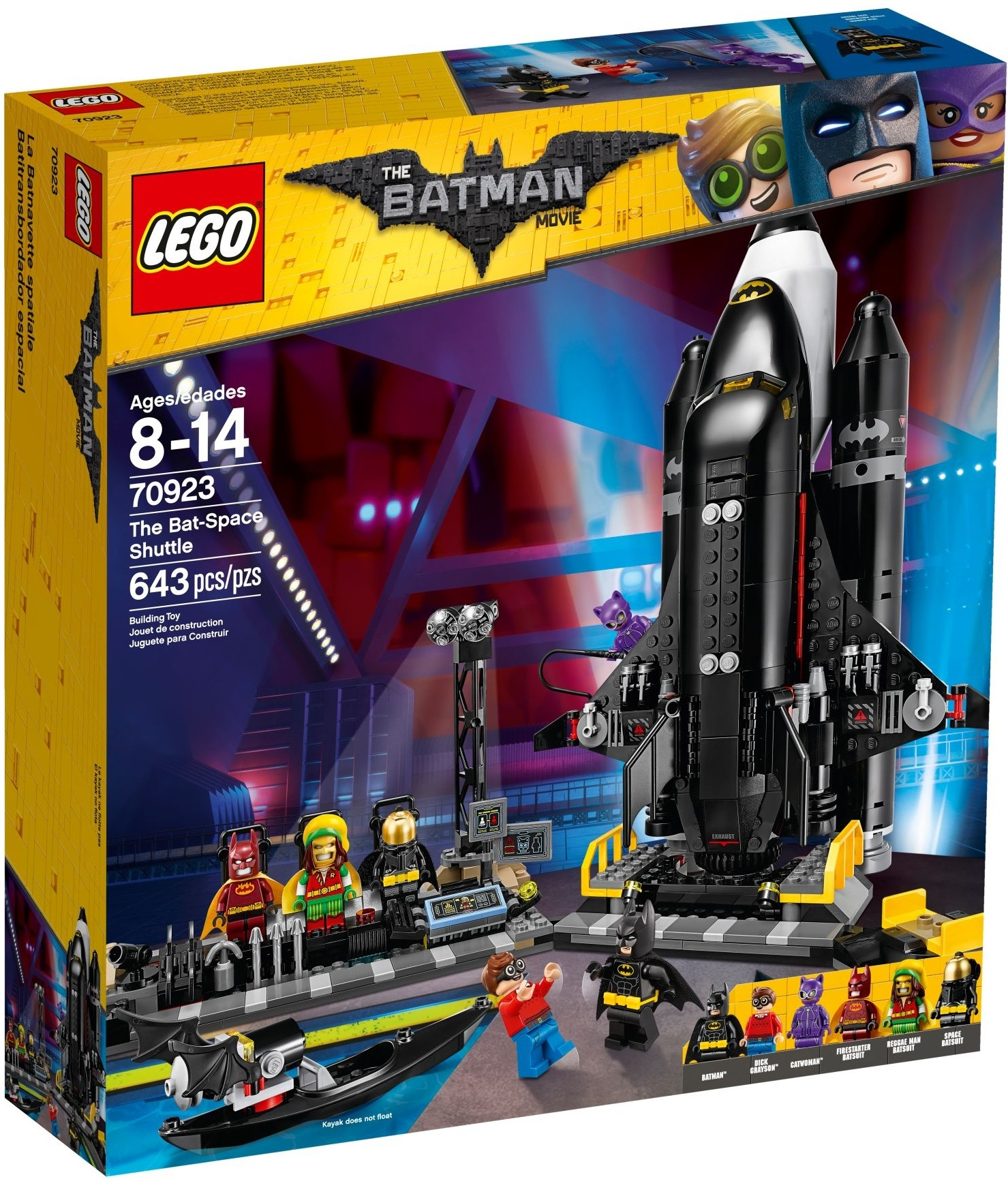 LEGO Batman Movie 70923 The Bat-Space Shuttle