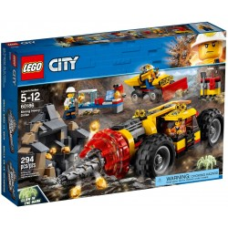 LEGO City 60186 Mining Heavy Driller