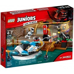 LEGO Juniors 10755 Zane's Ninja Boat Pursuit