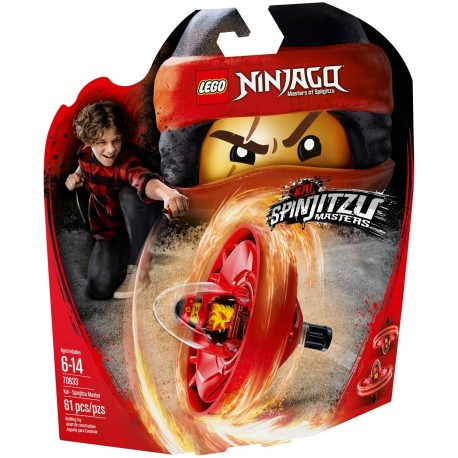 LEGO Ninjago 70633 Kai - Spinjitzu Master