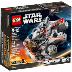 LEGO Star Wars 75193 Millennium Falcon Microfighter