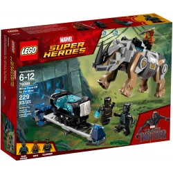 Lego Marvel Super Heroes 76099 Rhino Fac- Off by The Mine