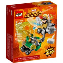 Lego DC Super Heroes 76091 Mighty Micros: Thor vs. Loki