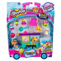 Shopkins World Vacation S8 America Taco Time Collection