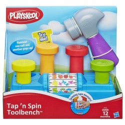 Playskool Tap 'n Spin Toolbench