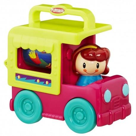 Playskool Fold 'N Roll Trucks Ice Cream Truck