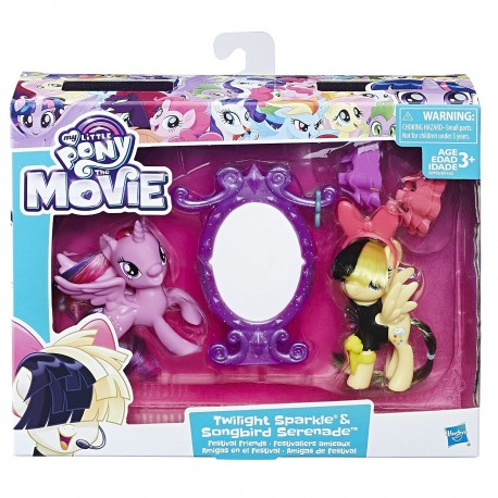 My Little Pony The Movie Twilight Sparkle & Songbird Serenade Festival Friends Set