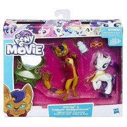My Little Pony The Movie Rarity & Capper Dapperpaws Styling Friends Set