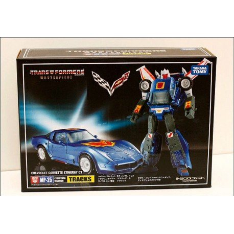 Takara Tomy Transformers Masterpiece Chevrolet Corvette Stingray C3 (Tracks)