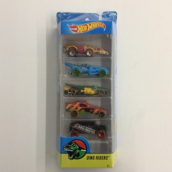 Hot Wheels Dino Riders 5 Pack