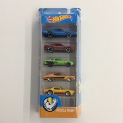 Hot Wheels Muscle Mania 5 Pack