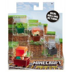Minecraft Mini-Figure 3-Pack-2