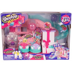 Shopkins S7 Join The Party Playset - Party Game Arcade
