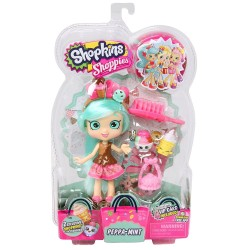 Shopkins Shoppies S4 Pack Peppa - Mint