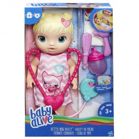 Baby Alive Better Now Bailey- Blonde Hair