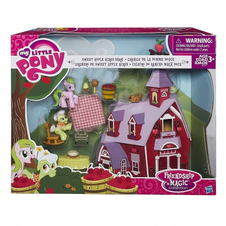 My Little Pony Friendship is Magic Collection Sweet Apple Acres Barn Set