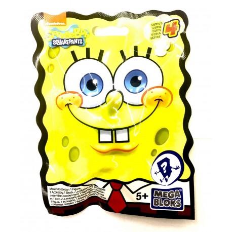 Mega Bloks Spongebob Squarepants Micro Action Figures Series 4