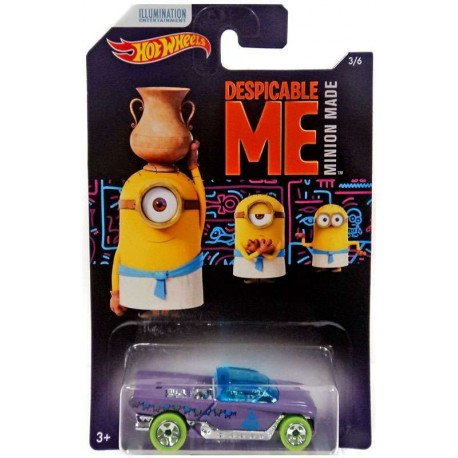 Hot Wheels Despicable Me Minion Made Diecast Vehicle: Jester