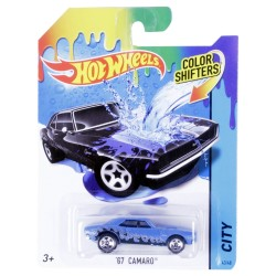Hot Wheels Color Shifters 67 Camaro Vehicle - Blue