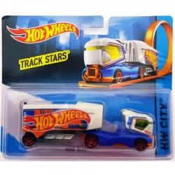 Hot Wheels Track Stars Aero Blast - Blue