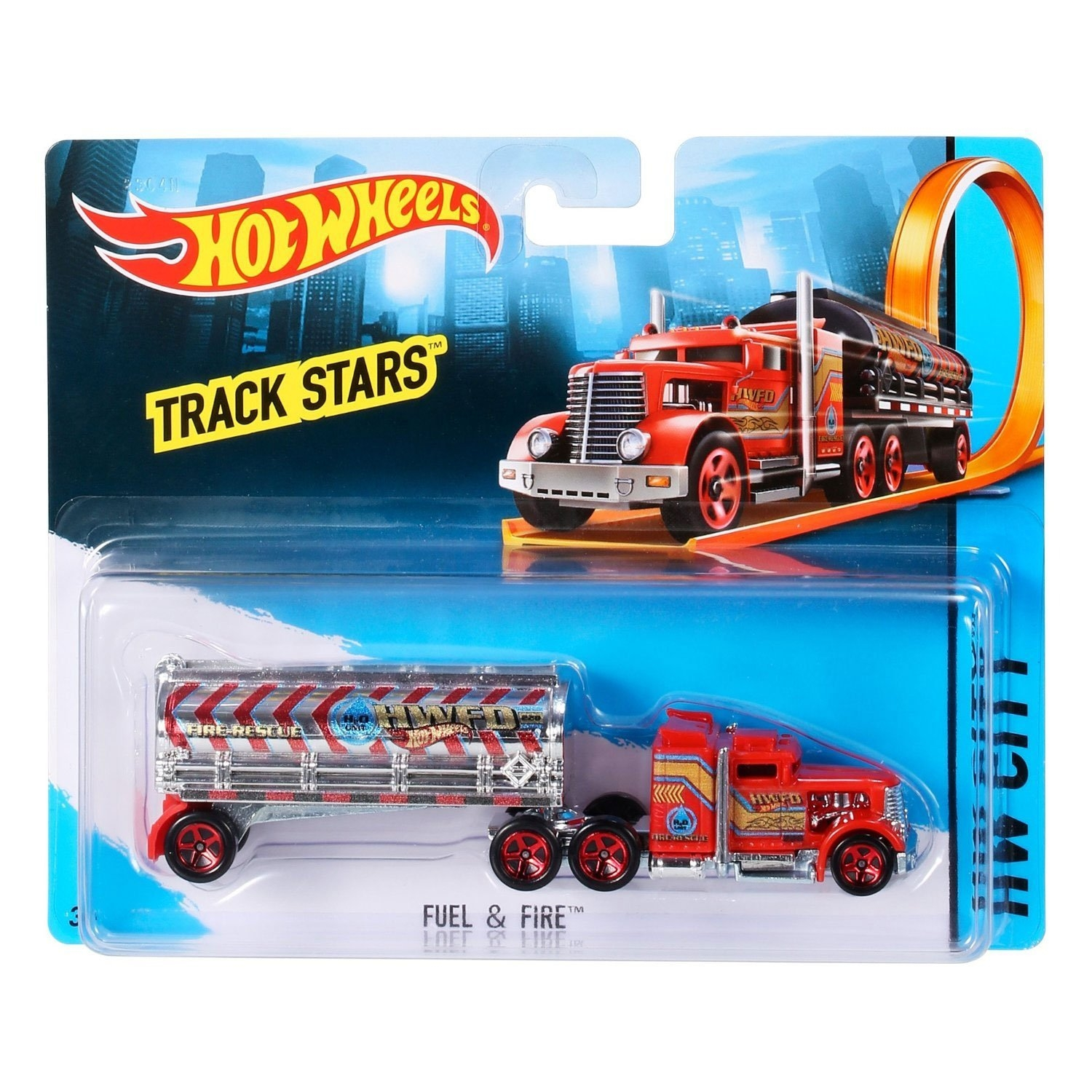 hot wheels track stars fuel and fire. Black Bedroom Furniture Sets. Home Design Ideas
