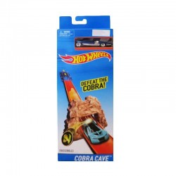 Hot Wheels Cobra Cave Defeat the Cobra