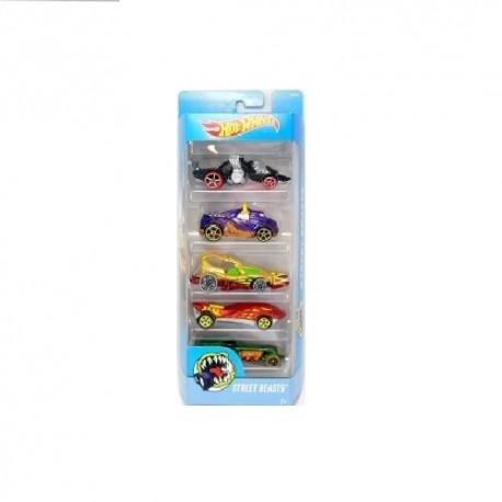 Hot Wheels Street Beasts 5 Pack 1.0