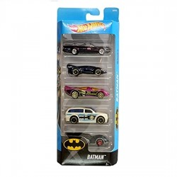Hot Wheels Batman 5 Pack