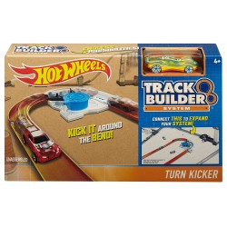 Hot Wheels Workshop Track Builder Turn Kicker Track Extension