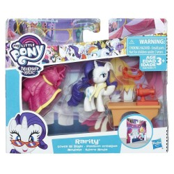 My Little Pony Friendship is Magic Rarity Pony Story Set