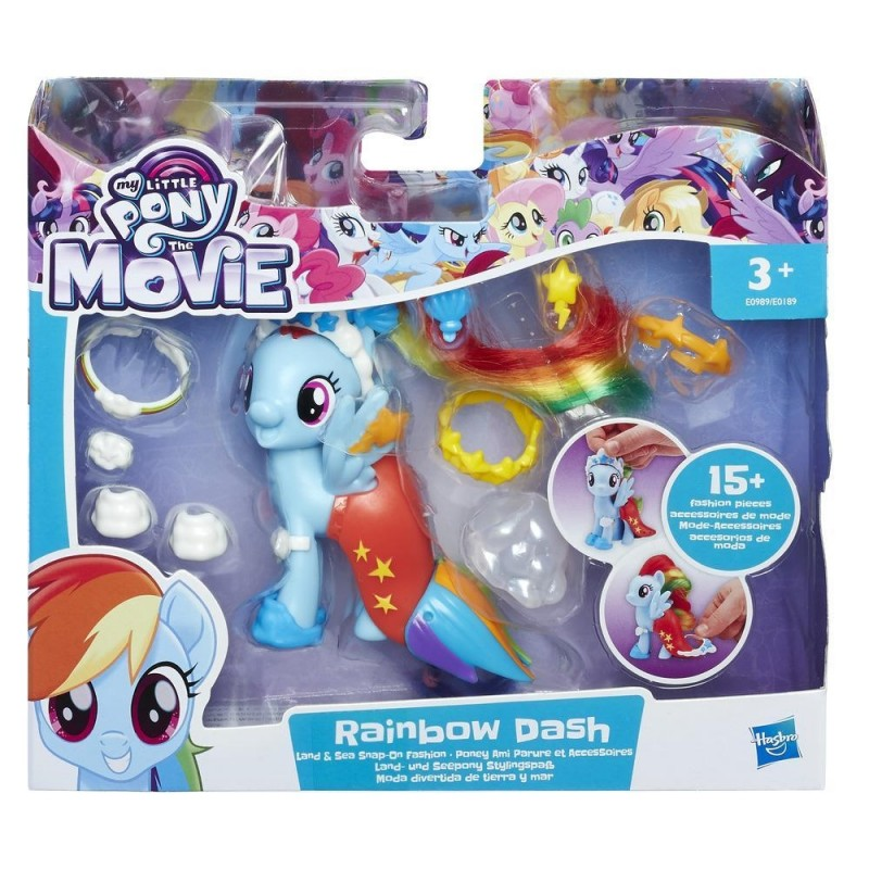 My Little Pony The Movie Rainbow Dash Land Sea Fashion Style