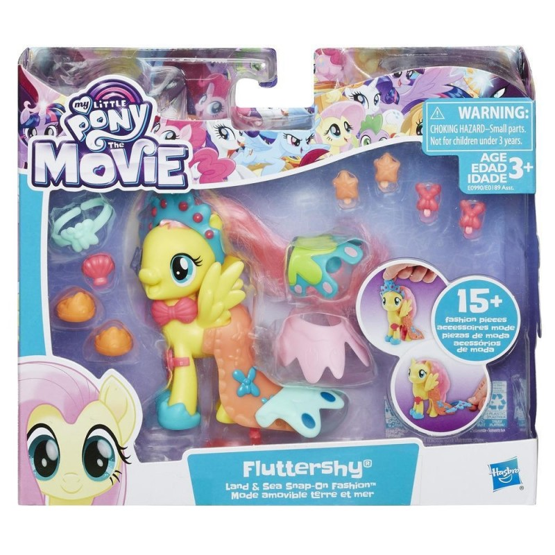 My Little Pony The Movie Fluttershy Land Sea Fashion Style