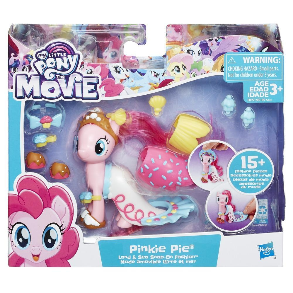 My Little Pony The Movie Pinkie Pie Land Sea Fashion Style