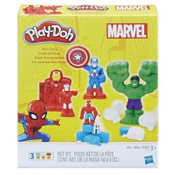 Play Doh Marvel Hero Tools