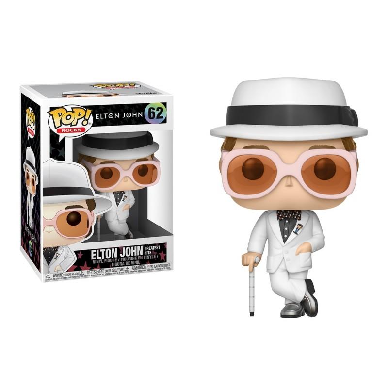 Funko Pop Rocks 62 Elton John Greatest Hits