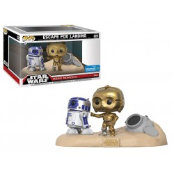 Funko Pop! Star Wars 222: Movie Moment - Escape Pod Landing (2 Pack) (Exclusive)