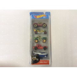Hot Wheels Jungle Rally 5 Pack