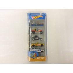 Hot Wheels Surf's Up 5 Pack