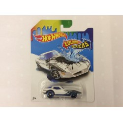 Hot Wheels Color Shifters 82 Corvette Stingray Vehicle