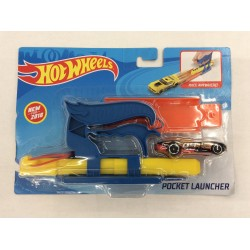 Hot Wheels Pocket Launcher (Blue)