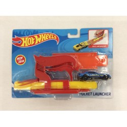 Hot Wheels Pocket Launcher (Red)