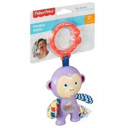 Fisher-Price Monkey Rattle (0+ Months)