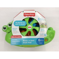 Fisher-Price Rock 'n Sort Snail Pail (6+ Months)