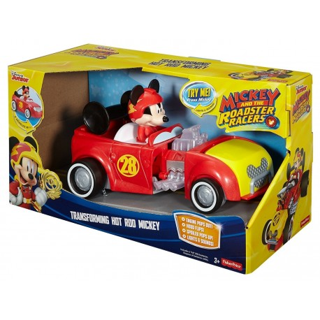 Fisher Price Disney Mickey and the Roadster Racers - Transforming Hot Rod Mickey