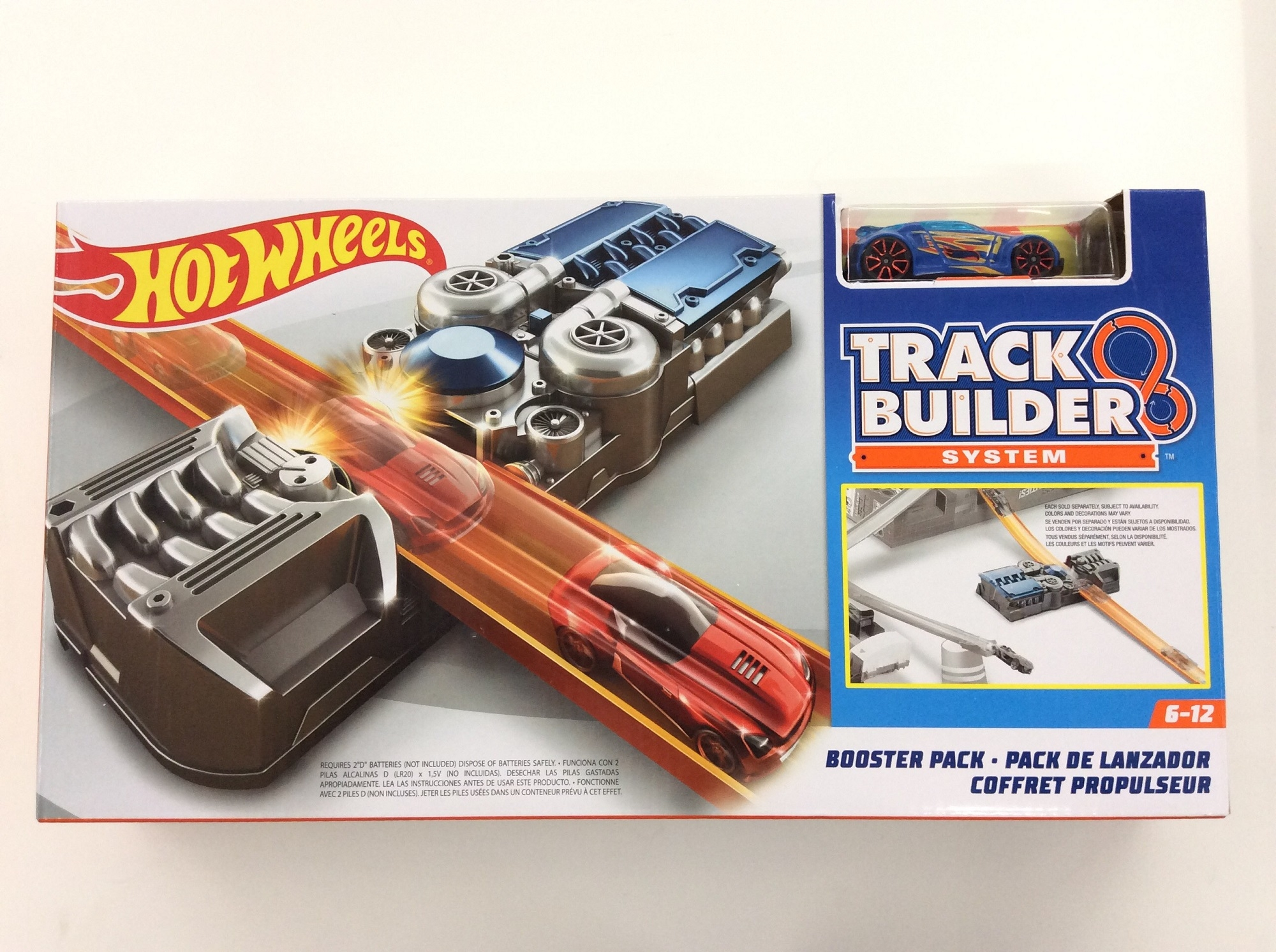 hot wheels track builder system booster pack. Black Bedroom Furniture Sets. Home Design Ideas