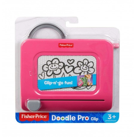 Fisher-Price Doodle Pro Clip-Pink (3+ Years)