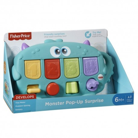 Fisher Price Monster Pop-Up Surprise (6+ Month)