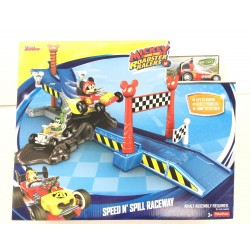 Fisher Price Disney Mickey and The Roadster Racers - Speed n' Spill Raceway (3+ Years)