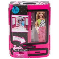 Barbie Fashionista Fab Fashion Closet - Pink