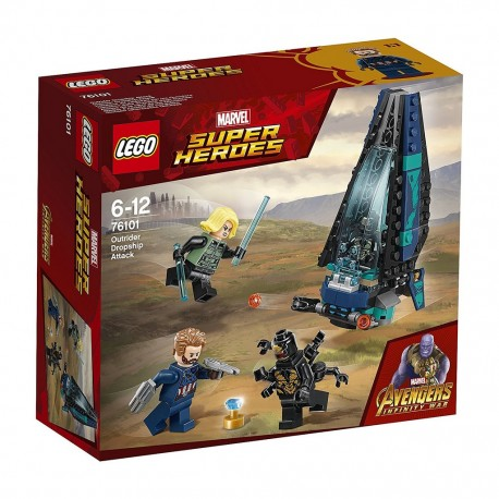 LEGO Marvel Super Heroes 76101 Outrider Dropship Attack